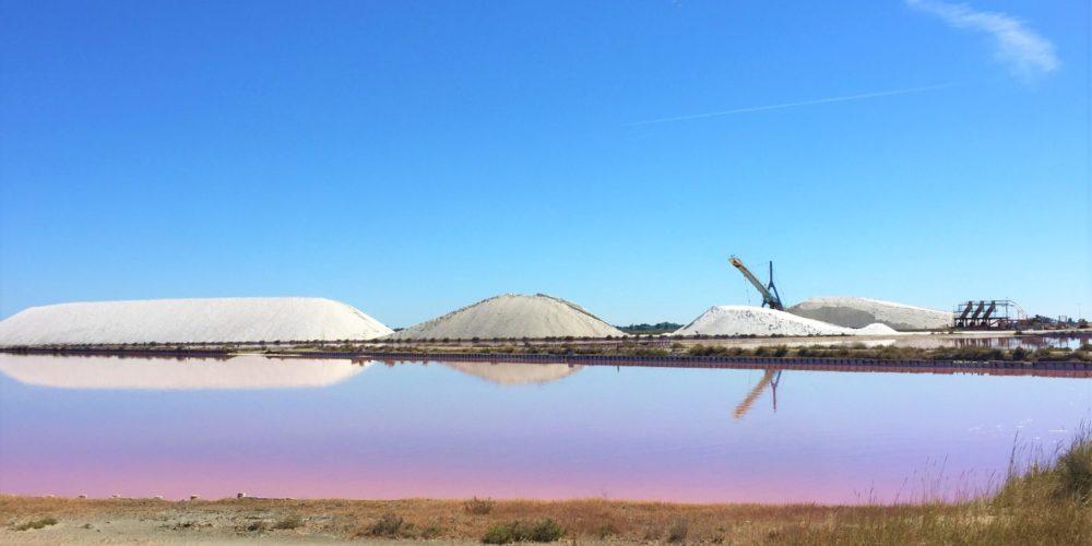 Les salins d'Aigues Mortes